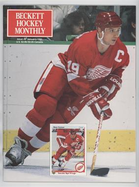 1990-Now Beckett Hockey #3 - January 1991 (Steve Yzerman)