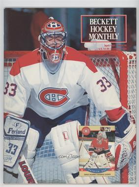 1990-Now Beckett Hockey #6 - April 1991 (Patrick Roy)