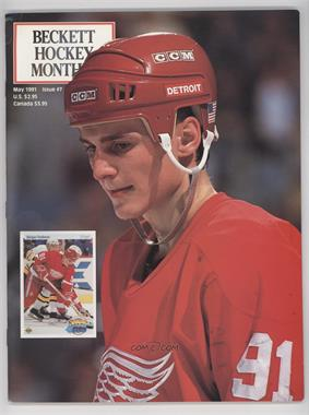 1990-Now Beckett Hockey #7 - May 1991 (Sergei Fedorov)