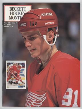 1990-Now Beckett Hockey #7 - May 1991 (Sergei Fedorov, Al MacInnis)
