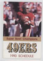 Joe Montana (49ers Report)