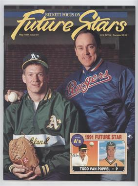 1991-2001 Beckett Future Stars / Sports Collectibles #1 - May 1991 (Todd Van Poppel, Nolan Ryan)
