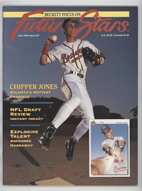 1991-2001 Beckett Future Stars / Sports Collectibles #27 - July 1993 (Chipper Jones)