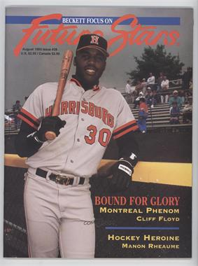 1991-2001 Beckett Future Stars / Sports Collectibles #28 - August 1993 (Cliff Floyd)