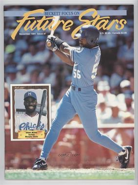 1991-2001 Beckett Future Stars / Sports Collectibles #7 - November 1991 (Brian McRae)