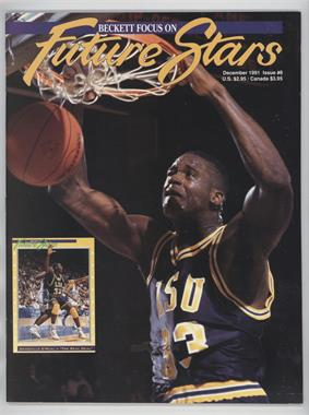 1991-2001 Beckett Future Stars / Sports Collectibles #8 - December 1991 (Shaquille O'Neal)