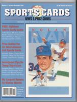 October-November 1991 (Nolan Ryan) [Good to VG‑EX]