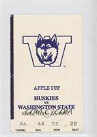 vs. Washington State Cougars [GoodtoVG‑EX]