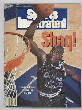 1992 Sports Illustrated - [Base] #11-30 - Shaquille O'Neal [GoodtoVG‑EX]