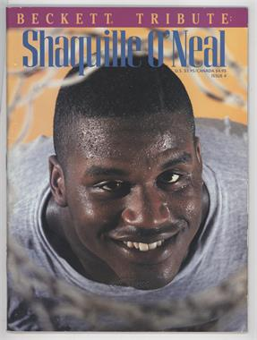 1993-99 Beckett Tribute #4 - Shaquille O'Neal [GoodtoVG‑EX]