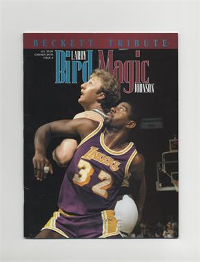 1993-99 Beckett Tribute #6 - Larry Bird, Magic Johnson [Good to VG‑EX]