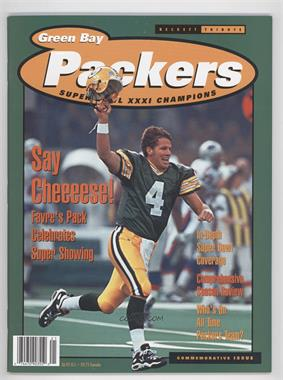 1993-99 Beckett Tribute #GBPA - Green Bay Packers Super Bowl XXXI Champions (Brett Favre, Reggie White)