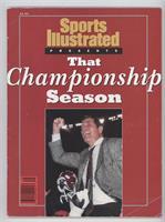 That Championship Season: Alabama Crimson Tide Football (Gene Stallings) [Good&…