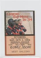 vs. Wyoming Cowboys [GoodtoVG‑EX]