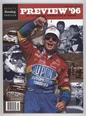 1996-99 Beckett Profiles - [Base] #NASC - NASCAR Preview '96 (Jeff Gordon)