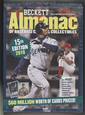 1996-Now Beckett Almanac of Baseball Cards & Collectibles #16 - 2010 (Ken Griffey Jr., Stephen Strasburg)