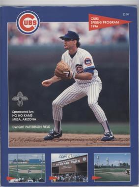 1996 Chicago Cubs - Game Programs #RYSA - Spring Training (Ryne Sandberg) [GoodtoVG‑EX]