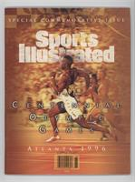 Summer Olympic Games Commemorative Issue (Michael Johnson)