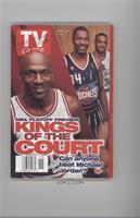 Michael Jordan, Hakeem Olajuwon, Grant Hill
