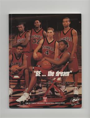 1998-99 Temple Owls Men's Basketball Media Guide #TEOW - Temple Owls
