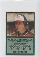 vs. Alabama-Birmingham Blazers (Frank Solich)