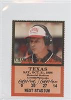 vs. Texas Longhorns (Frank Solich)