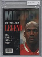 Farewell to a Legend (Michael Jordan) [BGS 6]