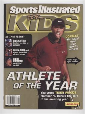2001 Sports Illustrated for Kids #1 - January (Tiger Woods)