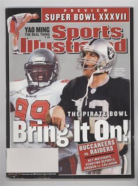 2003 Sports Illustrated #1-27 - Warren Sapp, Rich Gannon [GoodtoVG‑EX]