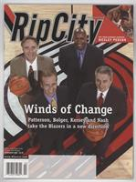 February (Steve Patterson, Jerome Kersey)