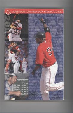 2006 Boston Red Sox Media Guide #DAOR - David Ortiz [Good to VG‑EX]