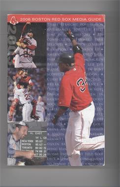 2006 Boston Red Sox Media Guide #DAOR - David Ortiz [GoodtoVG‑EX]