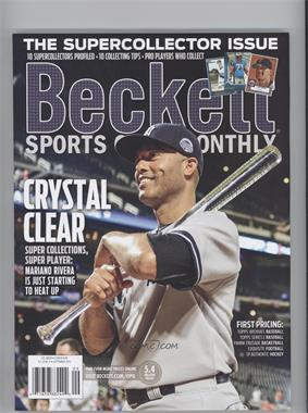 2008-Now Beckett Sports Card Monthly #9-13 - September 2013 (Mariano Rivera)