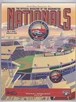 March 30 vs. Atlanta Braves (Opening Night, Inaugural Game at Nationals Park)