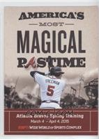 Braves Spring Training (Freddie Freeman)