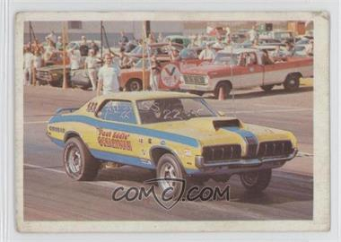 "1971 Fleer AHRA Drag Champs #EDSC - ""Fast Eddie"" Schartman's 1970 Cougar Super Stock [Good to VG‑EX]"
