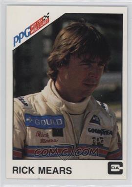 1983 CDA PPG Indy Car World Series - [Base] #1 - Rick Mears
