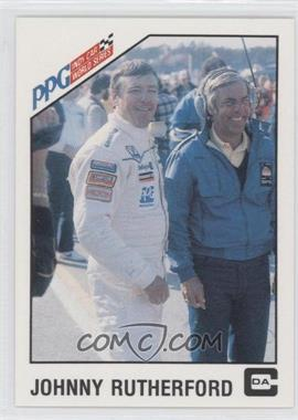 1983 CDA PPG Indy Car World Series - [Base] #21 - Johnny Rutherford