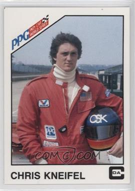 1983 CDA PPG Indy Car World Series - [Base] #4 - Chris Kneifel