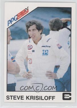 1983 CDA PPG Indy Car World Series - [Base] #7 - Steve Krisiloff