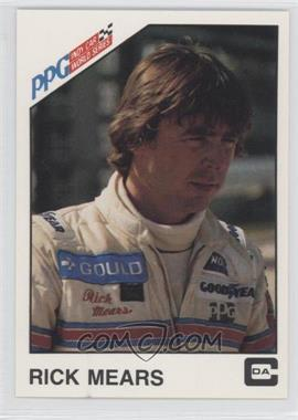 1983 CDA PPG Indy Car World Series #1 - Rick Mears
