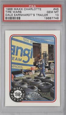 1988 Maxx - [Base] #45 - Dale Earnhardt [PSA10]