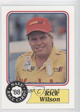 1988 Maxx #68 - Rick Wilson