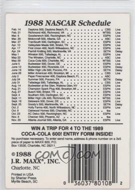 1988 Maxx #69 - [Missing]