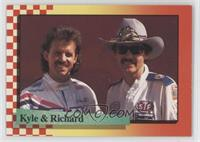 Kyle Petty, Richard Petty