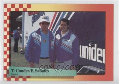 1989 Maxx Racing #39 - Felix Sabates, Ted Conder