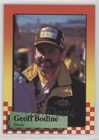 Geoff Bodine (Error: Last Line of Text on Back Partially Missing)