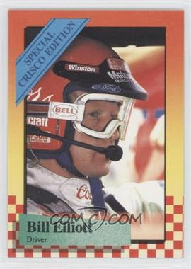 1989 Maxx Special Crisco Edition #4 - Bill Elliott