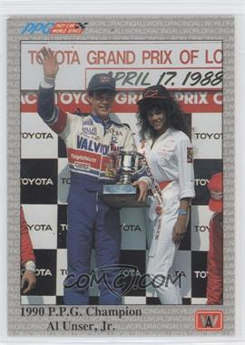 1991 All World PPG Indy Car World Series Sample #S100 - Al Unser Jr.