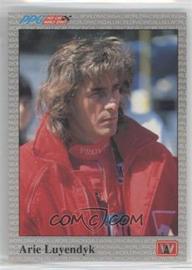1991 All World PPG Indy Car World Series Sample #S15 - Arie Luyendyk